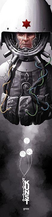 EK07 - Hexagram Grey - Derek Stenning - http://borninconcrete.com