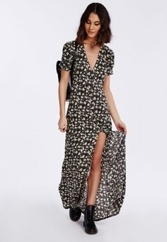 Best Maxi Dresses With Short Sleeves