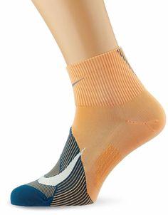 Nike Unisex Spark Lightweight Qtr Running Socks Fuel Orange/Teal S Running Socks, Girl Running, Orlando Magic, Puma Mens, Basketball Players, Crew Socks, Skechers, Nike Men, Teal