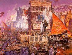 Antonio-Munoz-Degrain-Le colosse de Rhodes