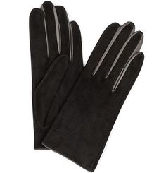 Pin for Later: Terribly British Gifts For a Fabulous Festive Season Aquascutum Leather and Suede Colour Insert Gloves Aquascutum Leather and Suede Colour Insert Gloves (£125)