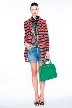 J.Crew spring 2012 ready to wear. Love the coat.
