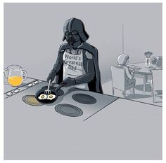 A little Star Wars humor. Luke, I am the best father. World's Greatest Dad, Best Dad, Dark Vader, Tema Star Wars, Images Star Wars, The Force Is Strong, Happy Fathers Day, Happy Mothers, Cinema