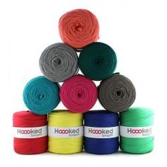 Hoooked - Zpagetti ZP001 mixed colours
