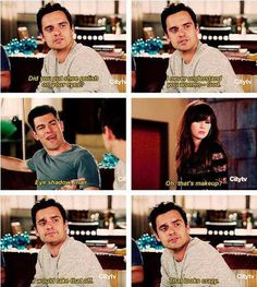 """""""New Girl"""" - Nick knows where it's at."""