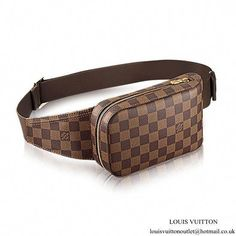 4d508ec0c67c Louis Vuitton N51994 Geronimos Hip Pack Damier Ebene Canvas   Louisvuittonhandbags Louis Vuitton Mens Bag
