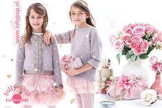 Monnalisa vestjes, rok en trui verkrijgbaar bij Lolly Pop Kindermode Eindhoven Julia Mayer and Lea Florence for B-Talent agency.