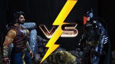 BAAHUBALI  vs  BATMAN (Stop motion animation)