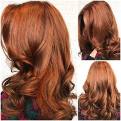 Drab And Faded To Wow Red - Hair Color - Modern Salon