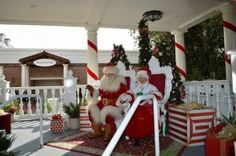 Santa Claus Events around Orlando in 2015 Christmas Eve, Christmas Ornaments, 4th Of July Wreath, Special Events, Orlando, Things To Do, Santa, Florida, Holiday Decor