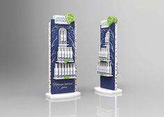 Display for vodka White Birch on Behance