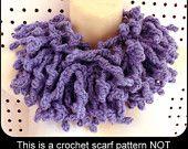 Crochet Scarf Pattern, WILDFRINGE Crochet Infinity Scarf Pattern, Cowl Scarf Pattern, Infinity Cowl Pattern