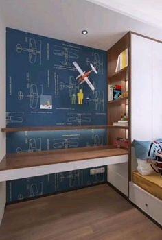 Homes to Love Kids Room Design Room Design Bedroom, Small Bedroom Designs, Small Room Design, Home Room Design, Kids Room Design, Bed Design, Bedroom Decor, Small House Interior Design, Home Design Software
