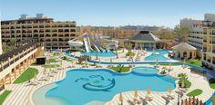 Ägypten Steigenberger Aqua Magic Außenansicht Aqua, Pool Pool, Hotels And Resorts, Tours, Mansions, House Styles, Outdoor Decor, Holiday, Travel
