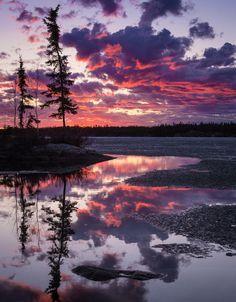 Long Lake, Yellowknife, NWT (Canada) by Dave Brosha