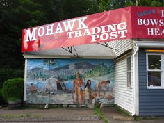 Mohawk Trail, Shelburne Falls, MA: Mohawk Trading Post