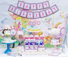 Mary Poppins Vintage Party - PRINTABLE PARTY COLLECTION - Cutie Putti Paperie