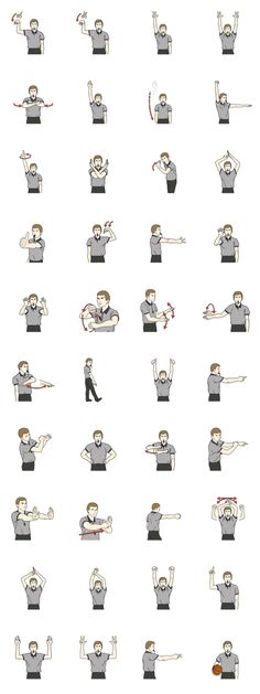 Basketball Referee Symbols Humor Pinterest Referee