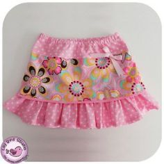 Gigi Skirt - 12 months to 8 years - PDF Sewing Pattern and Instructions | YouCanMakeThis.com