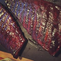 Ribs finished.