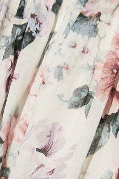 Zimmermann | Jasper printed cotton-voile halterneck dress | NET-A-PORTER.COM