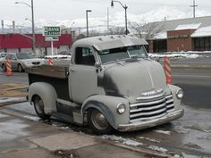 1940's Chevy Cab Over Engine Truck, bad ass!
