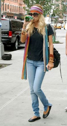 Nicole Richie Style... Hippie Style... Hippie Chic