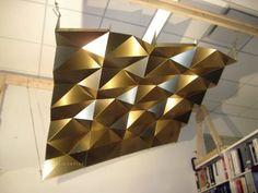 lúcio santos: folded metal ceiling