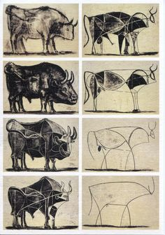 Picasso messing with a bull