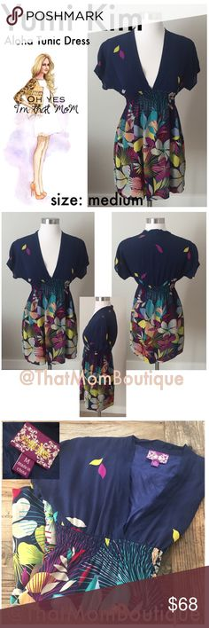 Yumi Kim Aloha Silk Tunic Dress- Size Medium This is an amazing tunic dress from designer Yumi Kim! Everything she makes has a feminine touch and a subtle sexiness. Wear as a dress or beach cover up. Elastic stretch in the back. Skirt it lined. Yumi Kim Dresses Mini
