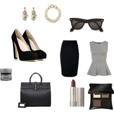 """""""Working Lunch Date"""" by lynn-jackson on Polyvore"""