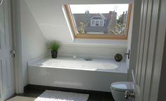 Plan a clever bathroom layout - bathroom layout, loft bathroom, small bathroom ideas, decorating a bathroom