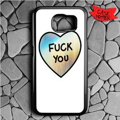 Hologram Quotes Heart Samsung Galaxy Edge Plus Black Case Samsung Galaxy S6, Galaxy S7, S7 Edge, Hologram, Cell Phone Cases, Heart, Quotes, Slipcovers
