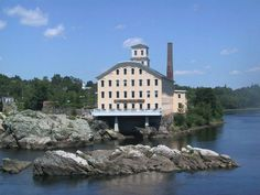 The Seadog...once an old mill in Topsham, Maine. Great place to eat.
