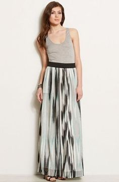 Printed Twofer MaxiOnline Exclusive - Dresses - Womens - Armani Exchange