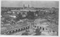 Merida, Yucatan. Vintage postcard
