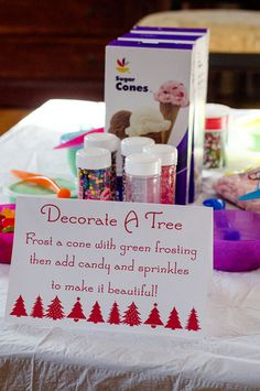 winter party or cute christmas craft for the kids on a cold, boring day.