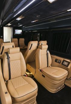 Klassen Excellence Sprinter Mercedes-Benz MSD 1201 Family Company Business Luxury Van with 10 seats and Lagage Box.