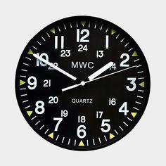 MWC U.S. Military Pattern Wall Clock