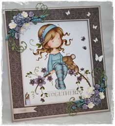 Mayas Hobbyblogg, fantastiske blomster.  Warm Grey 5, Slate, Winterberry (LE)