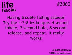 I'm a bad sleeper so this is so great to know!!