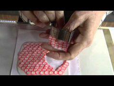 Faça um lindo maxi brinco em cerâmica plástica!