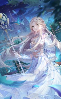 Discover recipes, home ideas, style inspiration and other ideas to try. Anime Elf, Anime Angel, Anime Fairy, Manga Anime, Male Manga, Beautiful Anime Girl, Anime Girl Cute, Kawaii Anime Girl, Anime Art Girl