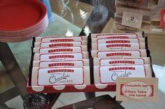 Crafty Mama: Cookies & Milk 2nd BirthdayCrafty Mama: Cookies & Milk 2nd Birthday Red, brown, white Cupcakes, cookies, chocolate bars Anders ruff Party printables Polka dot balloons Kids birthday parties Milk bottles