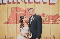 Southern California Pine Cone Wedding