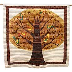 Wool Tree of Life Tapestry - Coiled wool tapestries by Peruvian weavers.  From Ten Thousand Villages