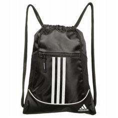 f5f55eec4d3 Adidas Alliance Drawstring Backpack Accessories (Black) Adidas Bags, Cinch  Bag, Drawstring Backpack