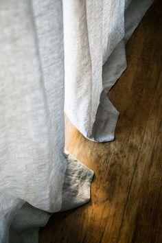 Barn & Willow's Modern Bohemian Bedroom | SF Girl By Bay | Belgian Flax Linen - Mist Grey