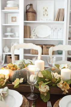 Softer Fall Colors for Dining Room... - Starfish Cottage