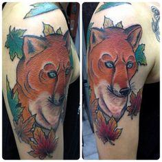 #tattoo #pabloverdugo #fox #foxtattoo